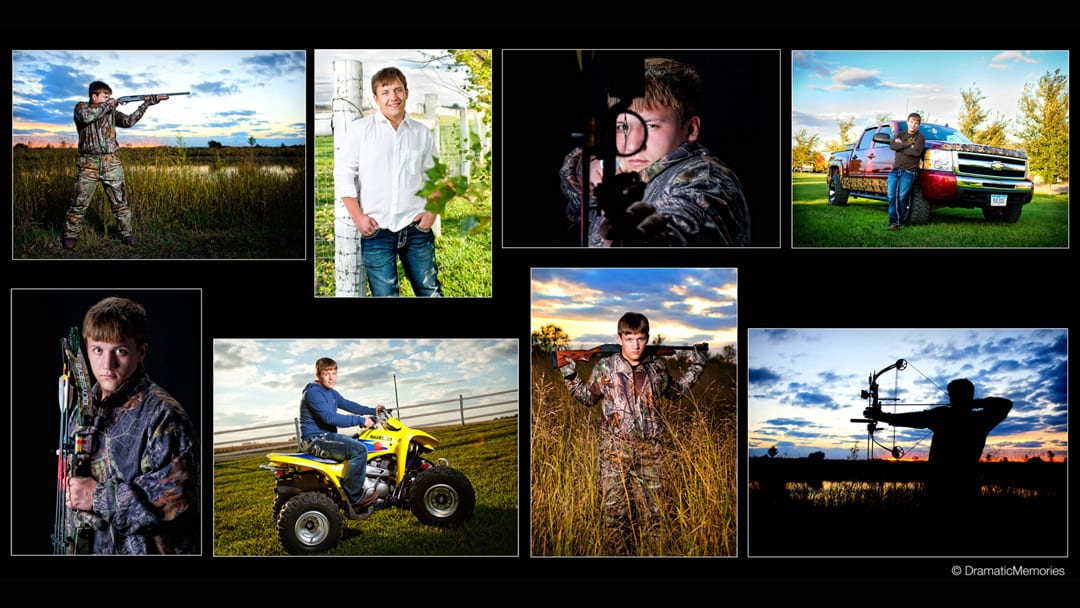 Senior photos senior guy outdoors