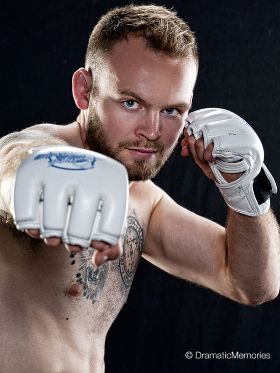 Sports Photography MMA Fighter Portrait